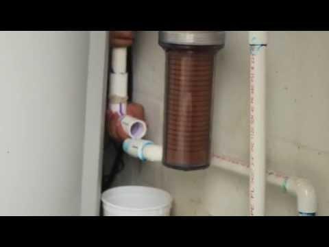 PVC Pipe leak fixing technique
