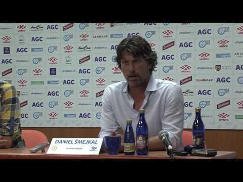Tisková konference domácího trenéra po utkání se Slavií (11.9.2016)