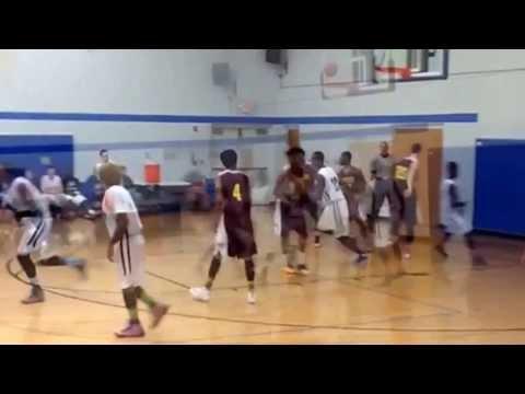 Caleb Walker Gahanna Christian Academy basketball - 12/19/2013