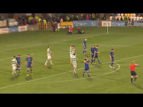 Ryan Connolly goal Bluebell United 2:4 Shamrock Rovers FAI Cup QF 08-09-17