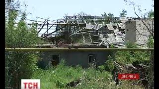 Селище Опитне постійно потерпає від ворожих атак - (видео)