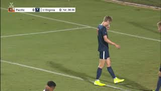 Men's Soccer Virginia vs Pacific 30-08-19