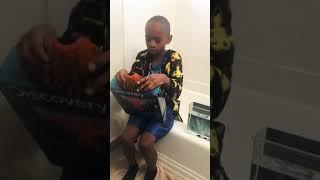 Kid Underwater Volcano Explosion