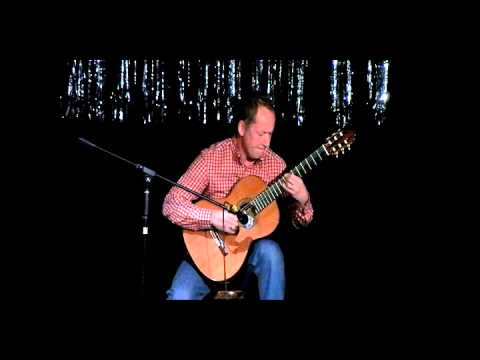 Peter Dodkin playing Classical Guitar at the Harlow Hospital Radio Variety Show