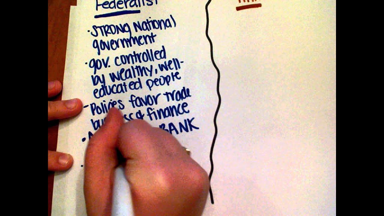 essay federalist vs anti federalist