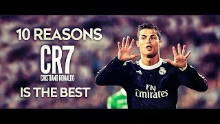 10 Reasons why C.Ronaldo is the best Player in the World