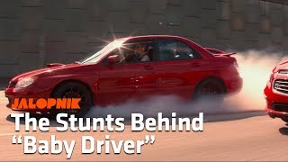 How The Stars Of Baby Driver Learned To Do Very Real Car Stunts