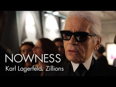 "NOWNESS.com presents:  Karl Lagerfeld in ""Zillions"""