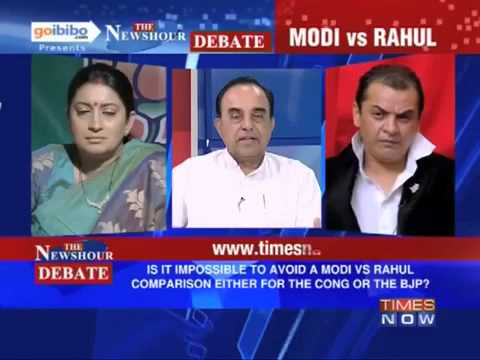 Modi vs Rahul : 5 points in 2minutes - You decide ---- Dr.Subramanian Swamy