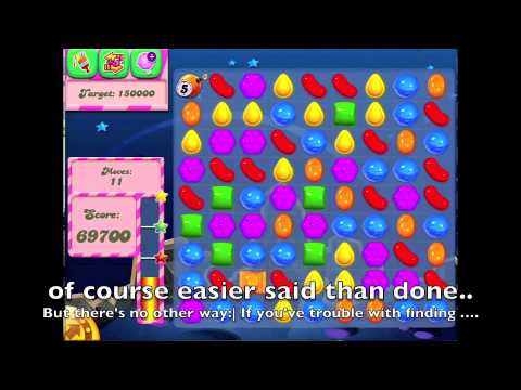 Candy Crush Saga - HOW TO DO Level 110 | How To Make & Do Everything!