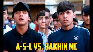 Лига Баттлеров 1.32 A-S-L vs. Bakhik MC (RAP.TJ)