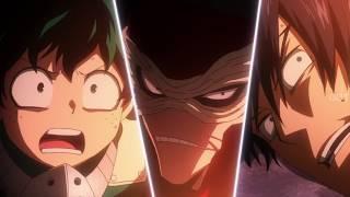 Midoriya & Todoroki and Tenya vs Hero Killer Stain full fight