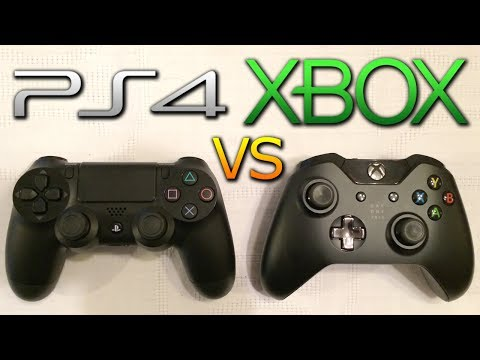 PS4 vs XBOX ONE Controller Comparison - Thumbsticks. Triggers & Design! (Playstation 4 vs XB1)