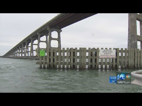 WAVY Team coverage of Bonner Bridge closing