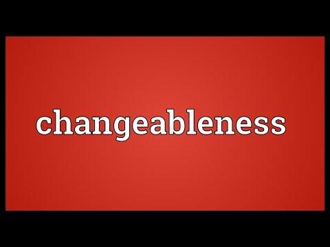 Header of changeableness