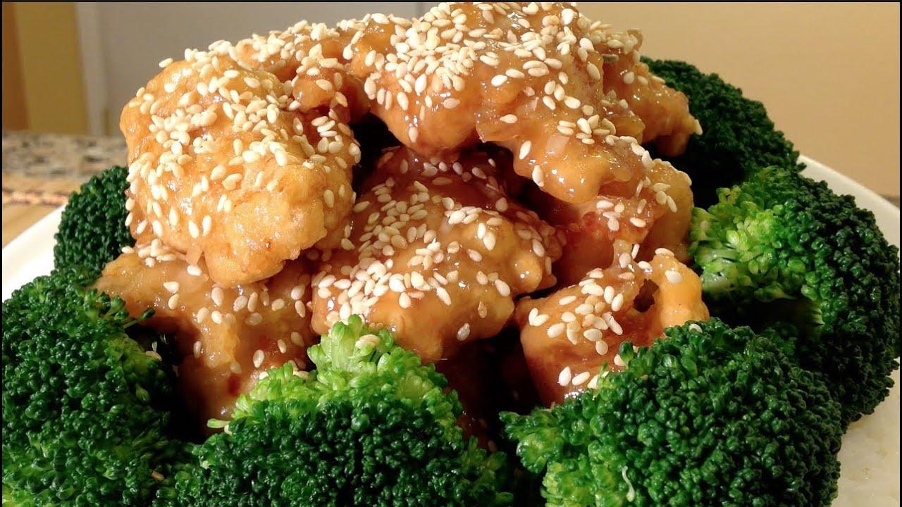 Honey Sesame Chicken-Asian Food Recipes - YouTube