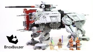 Lego Star Wars 75019 AT-TE Build & Review