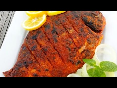 Pomfret fish fry ( quick and easy fry recipe)