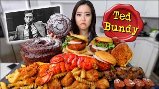 Trying REAL LAST MEALS (Fried Lobster, Burgers, Fried Chicken) MUKBANG 먹방 | Eating Show