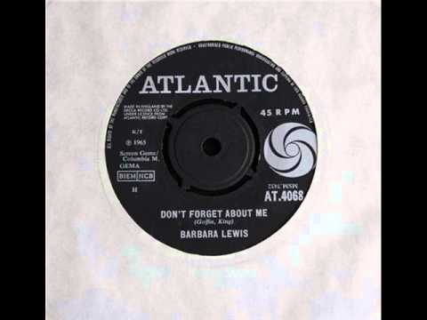 Barbara Lewis - Dont Forget About Me
