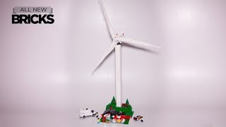 Lego Creator Expert 10268 Vestas Wind Turbine Speed Build