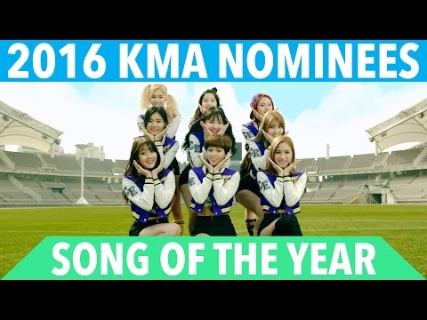 2016 K-VILLE MUSIC AWARDS (KMA'S) - SONG OF THE YEAR NOMINEES