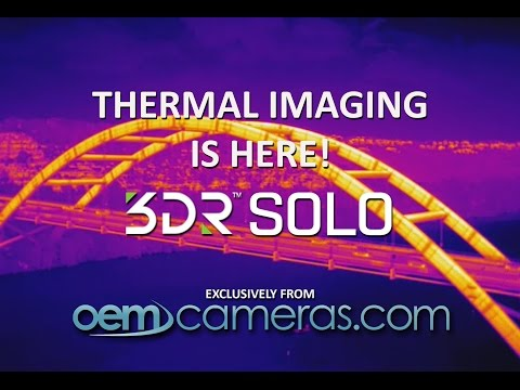 Thermal Imaging for the 3D Robotics SOLO Drone!!