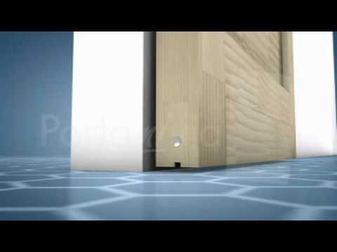Schiebetür selber bauen ohne bodenschiene  Schiebetüren selber machen - Anleitung