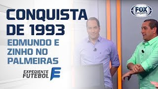 EDMUNDO E ZINHO RECORDAM CONQUISTA PELO PALMEIRAS NO DIA 12 DE JUNHO DE 1993