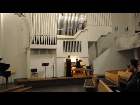 Иоганн Себастьян Бах - Трио-соната для органа № 3 ре минор