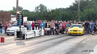 Street Outlaws BoostedGT Chris Hamilton VS Jason Grubaugh FINALS Small Tire Redemption at the Dale