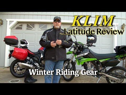 Drinking the Klim Koolaid - Klim Latitude Review   Old Cop Motovlogs
