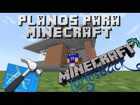 Planos para Minecraft Cap 01 - Casa Playera de Carlosback -