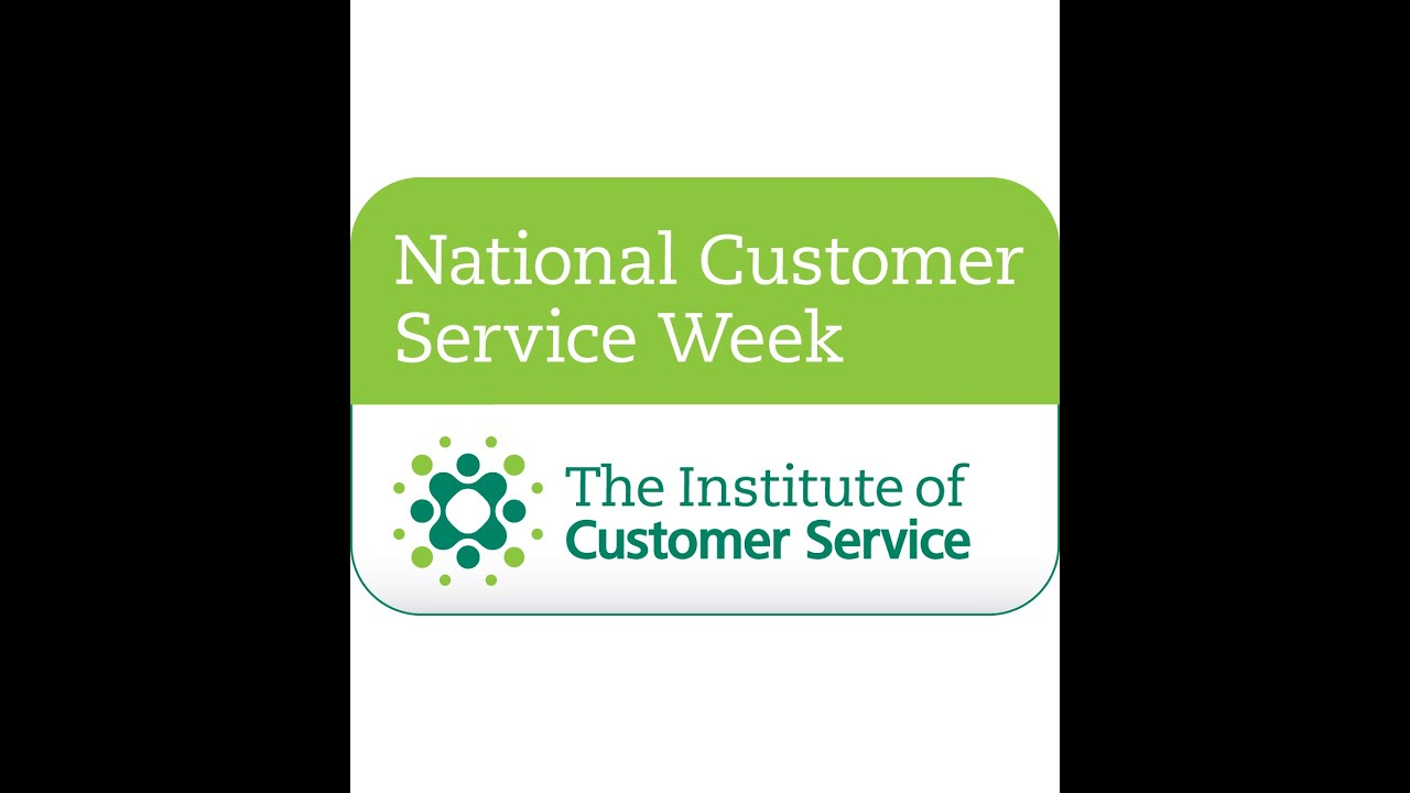 Customer service week is once again upon us (starting from monday, october 6)
