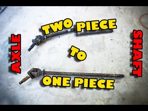 Dana 30 - 2 Piece to 1 Piece Axle Shaft Conversion - Part 1 of 2