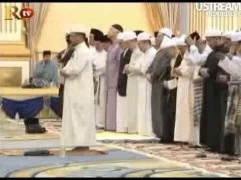 Istana Kelantan terawih Ramadan 1433H / 2012M Dr Muhammad Lukman Ibrahim 2