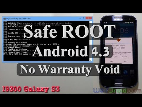 [No Warranty Void] Root Android 4.3 for Galaxy S3 I9300. I535