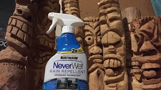 Neverwet for Glass - Rain Repellent First Test/Review