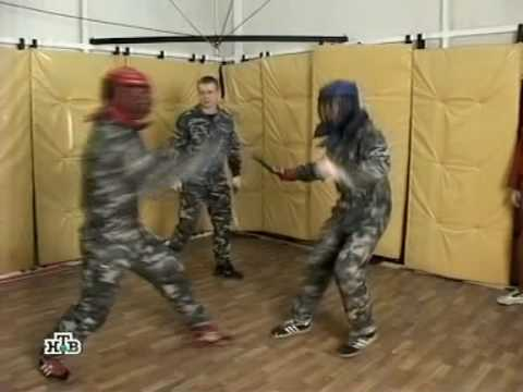 Real life army knife fight Image 1