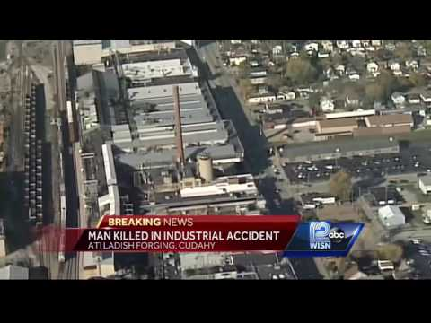 Man killed in industrial accident