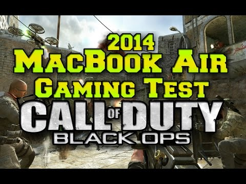 2014 MacBook Air Gaming Test: Call of Duty Black Ops