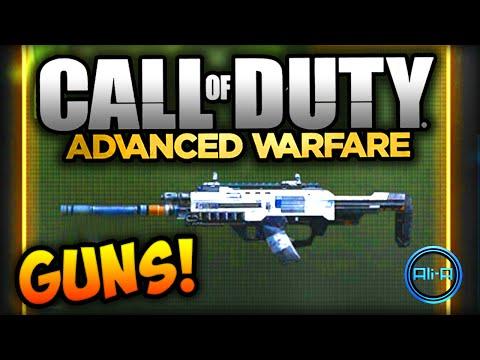 GUNS & ATTACHMENTS! - COD Advanced Warfare Multiplayer Weapons (COD 2014)