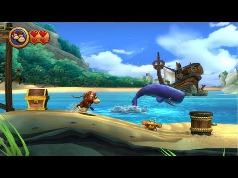 Direct Live Donkey Kong Country Returns ( Wii )