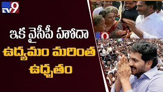 Y S Jagan to take Special Status agitation to new heights  - netivaarthalu.com