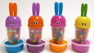 Play-Doh Funny Bunny Dippin Dots Surprise Toys