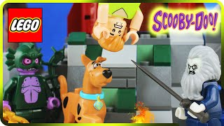 ♥ LEGO Scooby Doo & Shaggy SPOOKY HAUNTED LIGHTHOUSE (Episode 2)