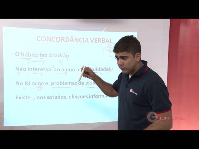 Aulão Grátis - Gramática - Concordância Verbal