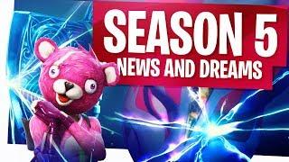 Fortnite Season 5 Latest News and Dreams! - 2 days till S5!
