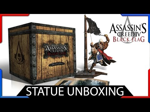 Assassin's Creed 4 Black Flag Statue Unboxing