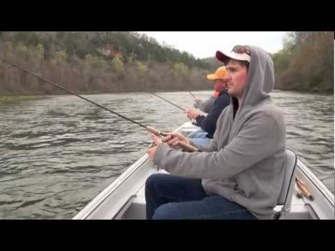 White River Trout Fishing - March 16th - 18th 2012
